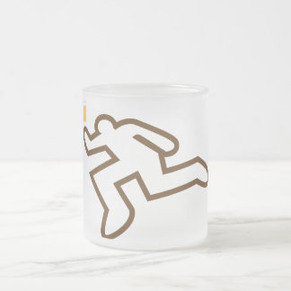 I could murder a beer frosted glass mug