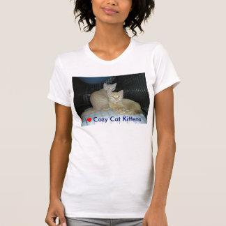 I ♥ Cozy Cat Kittens, I heart Cozy Cat kittens T-Shirt