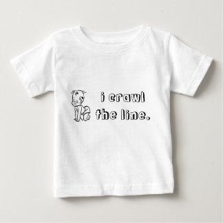 i-crawl-the-line01 baby T-Shirt