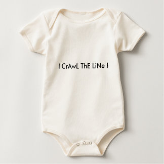 I Crawl The Line Baby Bodysuit