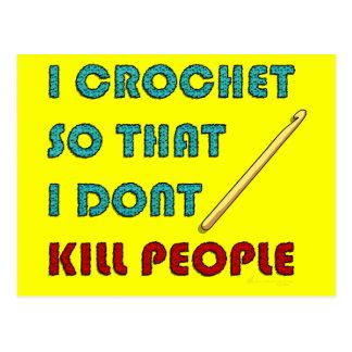 I Crochet, Postcard