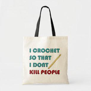 I Crochet, Tote Bag