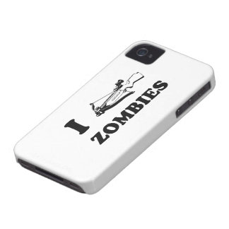 I Crossbow Zombies iPhone 4 Case-Mate Case