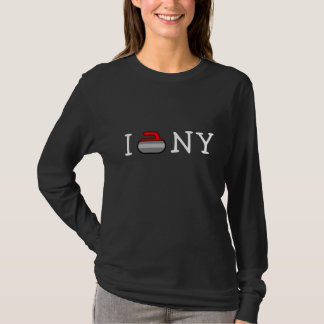 I Curl NY ~Ardsley Curling Club T-Shirt