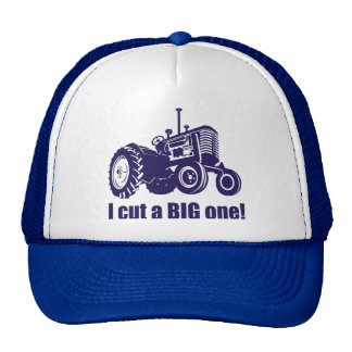 I Cut A Big One Landscaper Cap