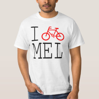 I Cycle Melbourne! T-shirt