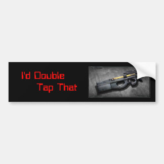 I d Double Tap That Bumper Stickers