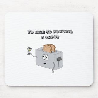 I d like to propose a toast mousepads