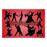 I'd Rather Be Ballroom Dancing Posters