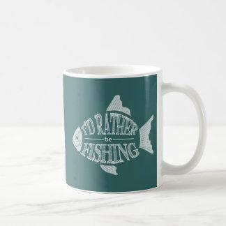 I d Rather Be Fishing - cute fish design Mugs