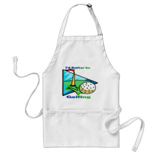 I d Rather Be Golfing Aprons