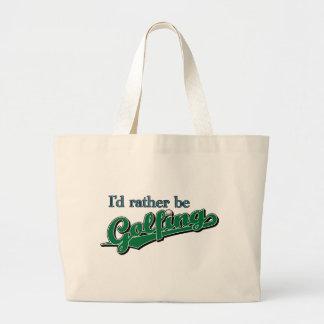 I d rather be Golfing Bag