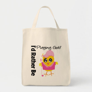 I d Rather Be Playing Golf Tote Bags