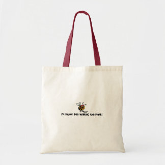 I d rather bee walking the plank tote bags