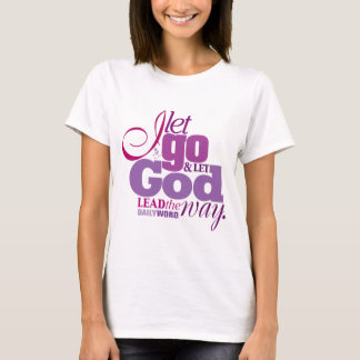 "<i>Daily Word®</i> ""Let Go, Let God"" T-shirts"