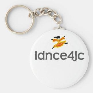 I Dance For Jesus Christ Basic Round Button Key Ring