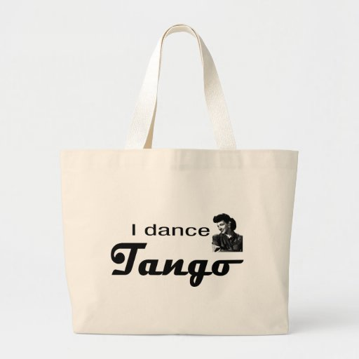 I Dance Tango Design! Canvas Bag