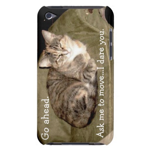 I Dare You Kitty iPod Touch Case