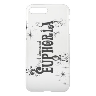 I Demand Euphoria - Black Swirls, Stars, Fireworks iPhone 7 Plus Case