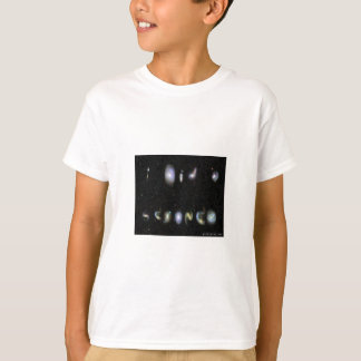 """""""I Did A Science"""" - written in real galaxies T-Shirt"""