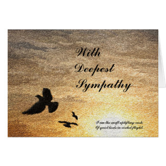 I Did Not Die Sympathy Card