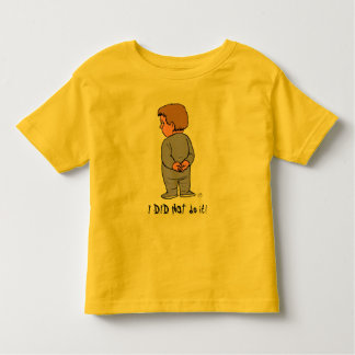 I DID NOT do it!, KB Toddler T-Shirt