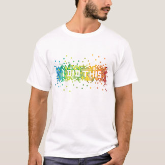 """I Did This"" Pixels T-Shirt (white)"