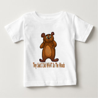 I Did What Baby T-Shirt