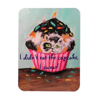 I Didn't Eat The Cupcake, I Swear! Rectangular Photo Magnet