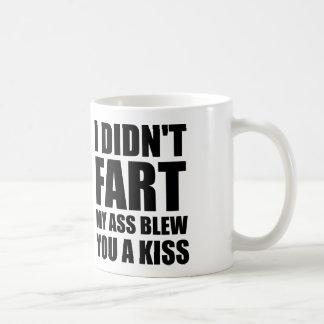 I DIDN'T FART COFFEE MUG