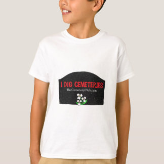 I Dig Cemeteries T-Shirt