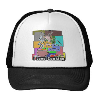 I Dig Cooking Great Flavors Hat