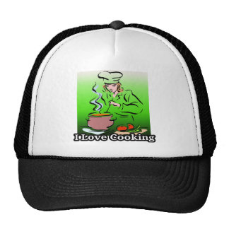 I Dig Cooking Hot Cooking Mesh Hats