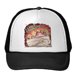 I Dig Cooking Mix it Up Hats