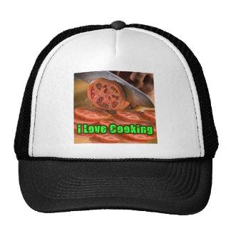 I Dig Cooking Recipes Mesh Hats