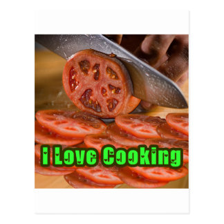 I Dig Cooking Recipes Postcard