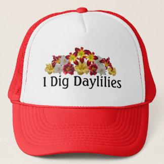 I Dig Daylilies Cap