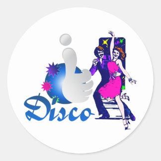 I Dig Disco Sticker
