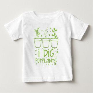 i dig potplants baby T-Shirt