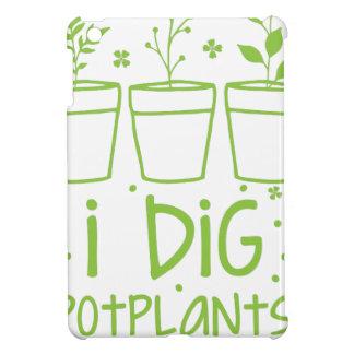 i dig potplants iPad mini case