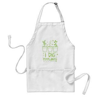 i dig potplants standard apron