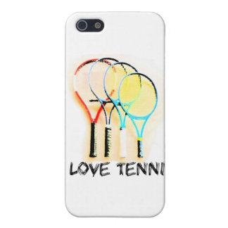 I Dig Tennis Beautiful Racket Case For iPhone 5/5S