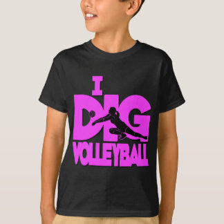 I Dig VB, hot pink T-Shirt