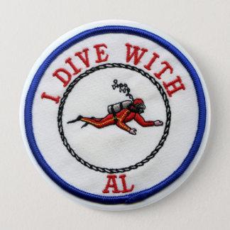 I Dive With AL Button