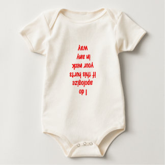 I do apologize hurts neck baby bodysuit