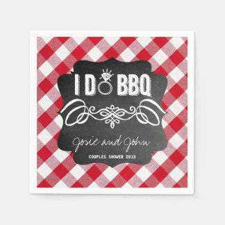 I Do BBQ Napkins Disposable Napkin