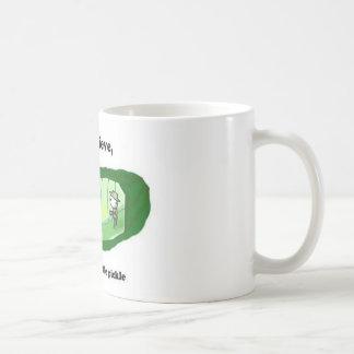 I do believe I am in a little pickle Coffee Mug