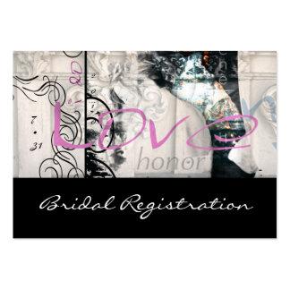 i do bridal registration card business cards
