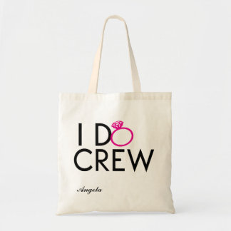 I DO CREW BRIDESMAID TOTE