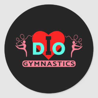 I DO Gymnastics Stickers